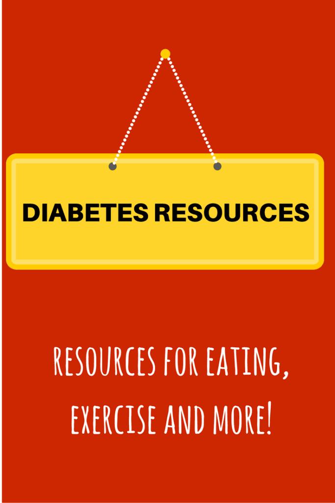 Diabetes resources