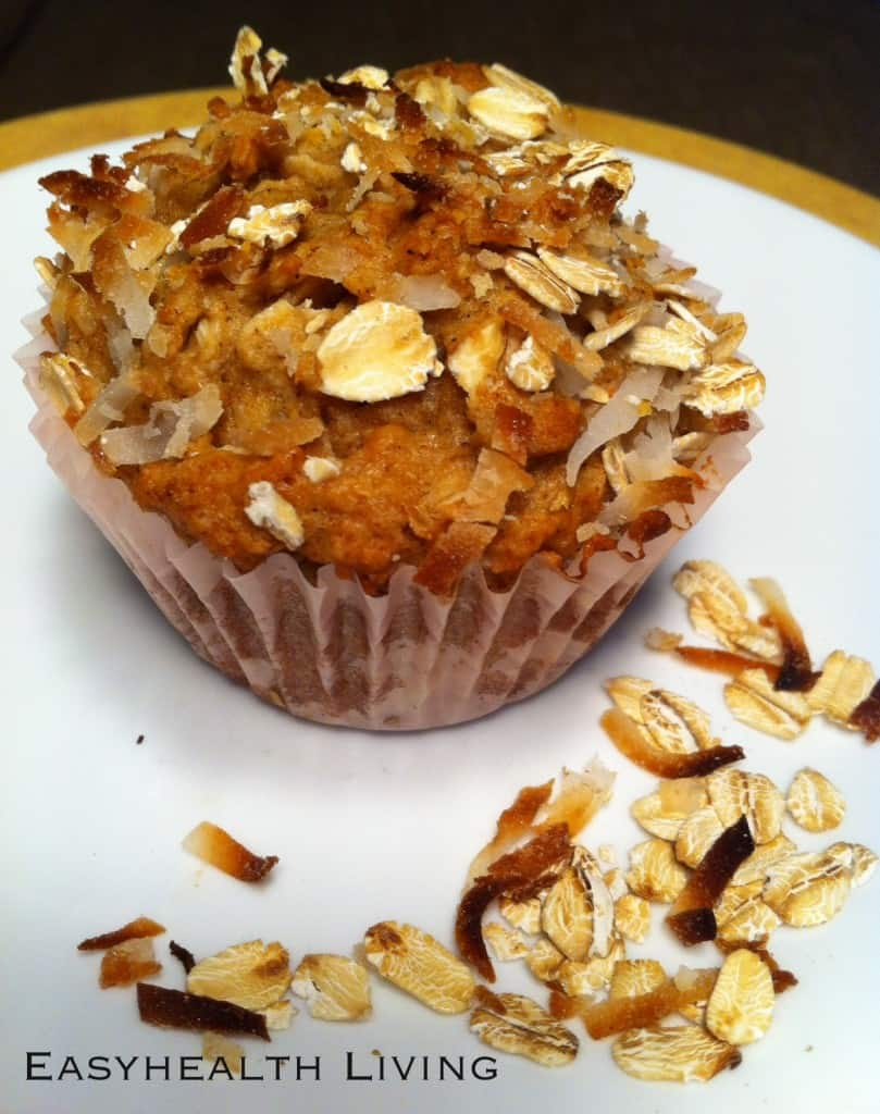 oat and flax muffin