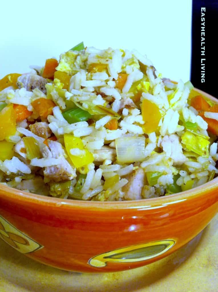 Quick Veggie Fried Rice