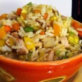 Quick Veggie Fried Rice