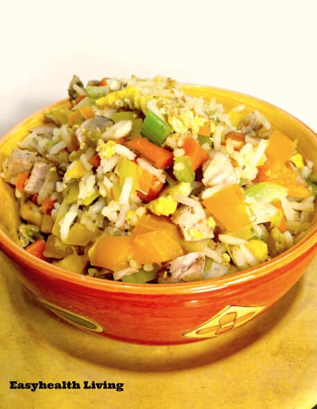 Easy (Veggie) Fried Rice