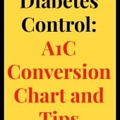 glucose to A1C chart