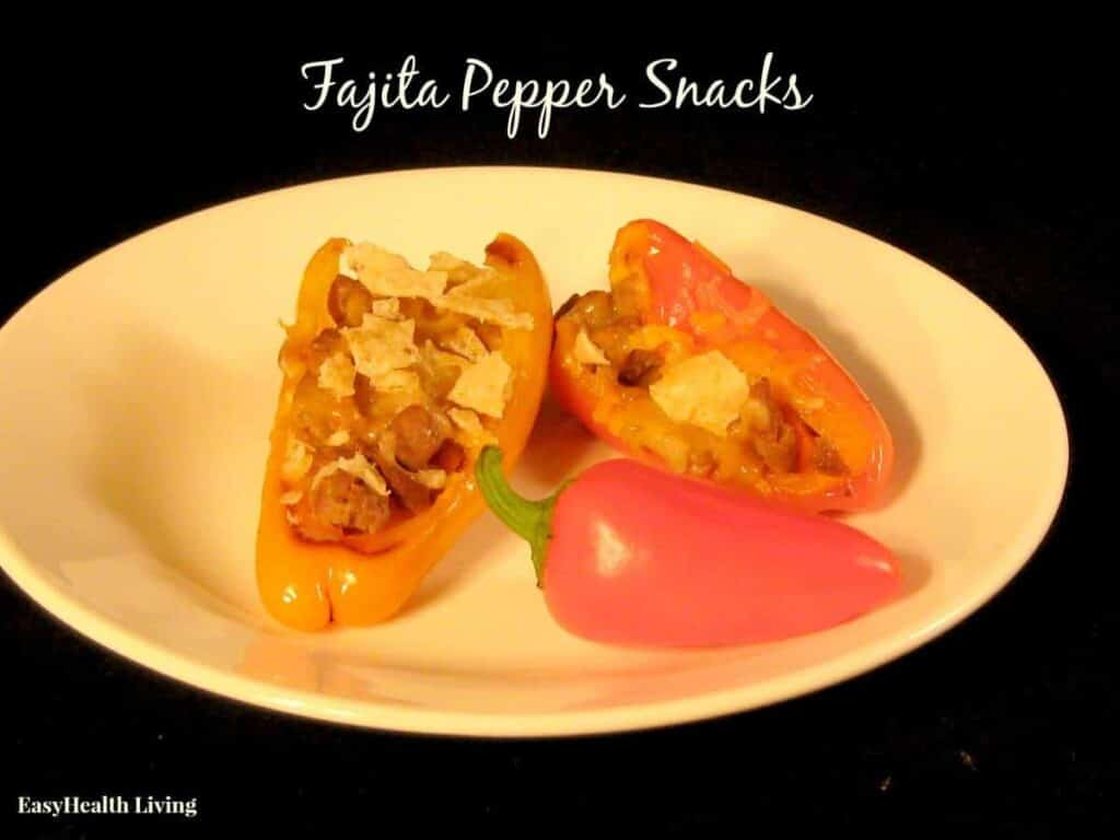 Fajita stuffed peppers!