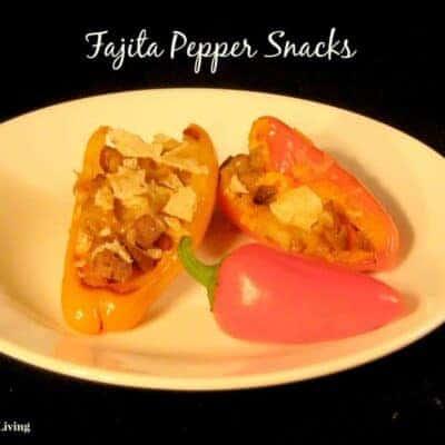 fajita pepper snacks