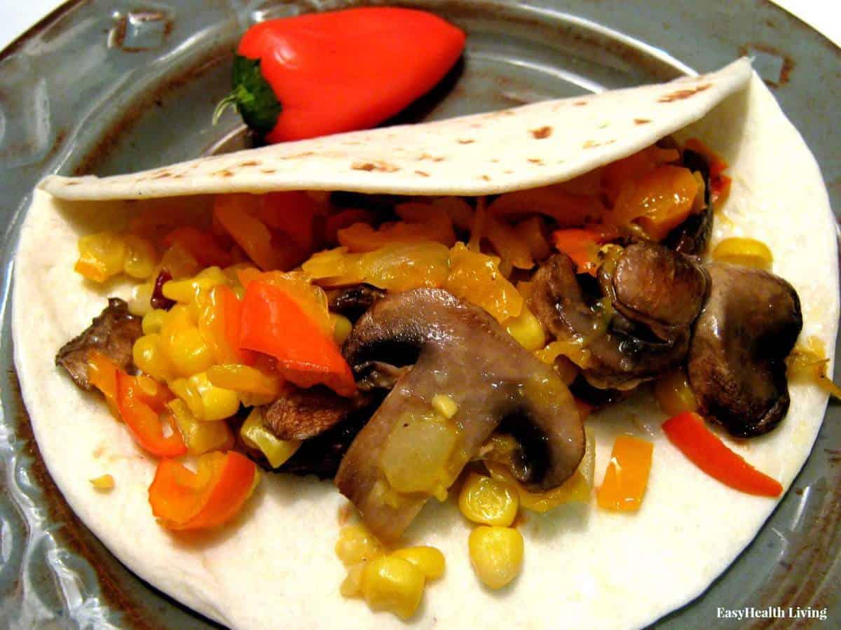 Roasted Veggie Taco