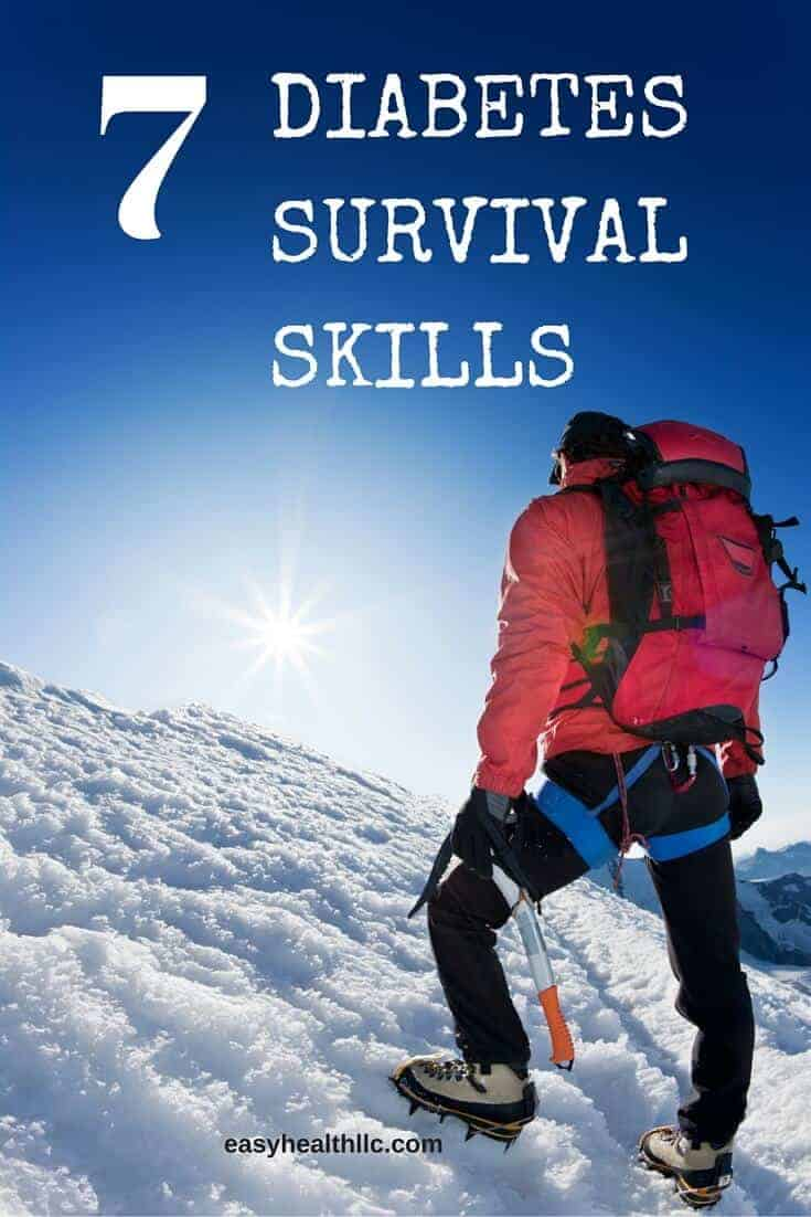 7 diabetes survival skills