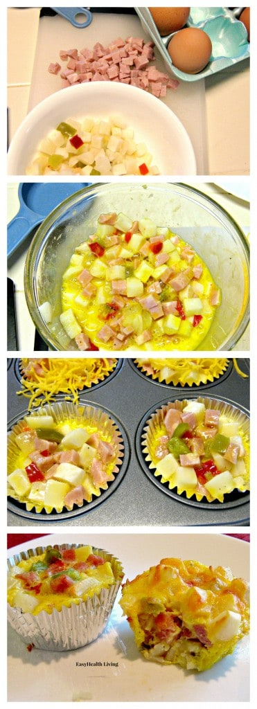 How to Make Southwestern Omelets Cups
