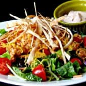 BBQ Chicken and Veggie Crunch Salad