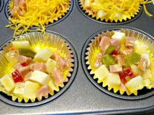 Southwestern Omelet Cups