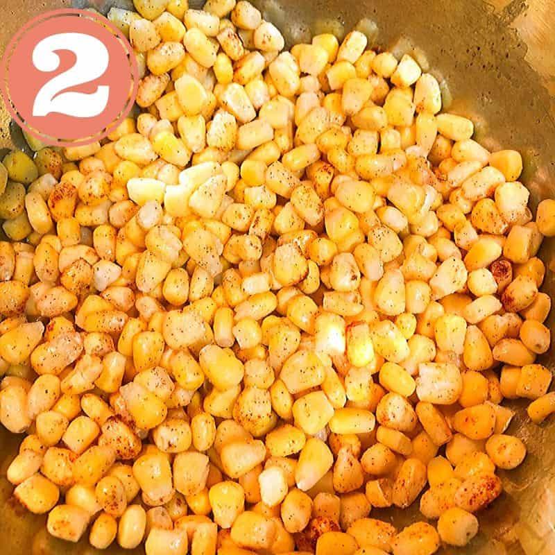corn mixture in bowl