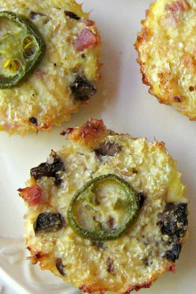 Cauliflower Breakfast Muffin
