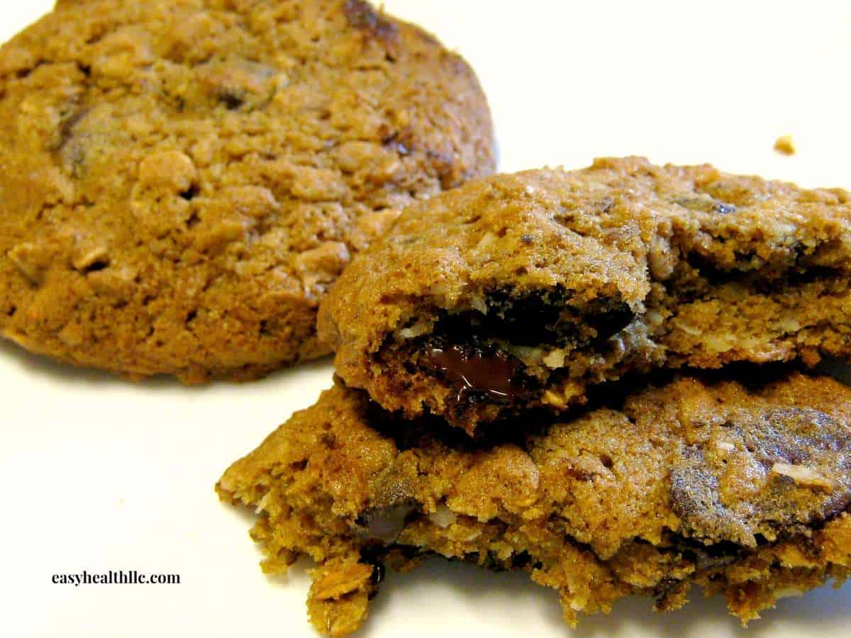 5 Grain & Chocolate Breakfast Cookie