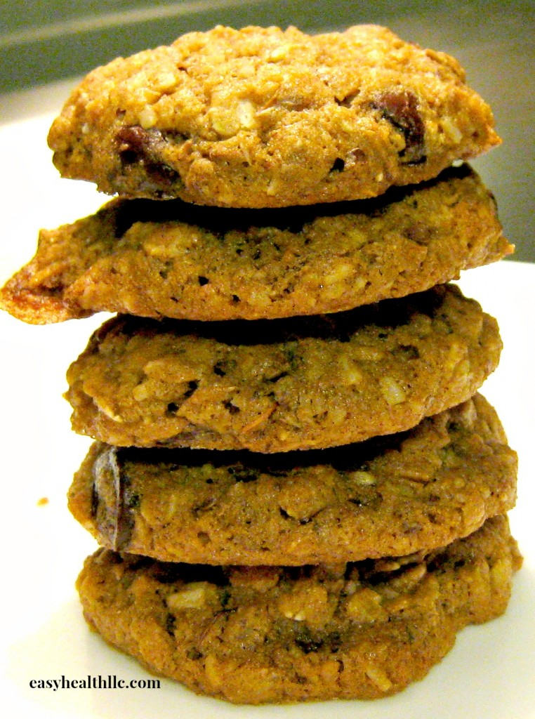 Nutrient dense cookies you can eat for breakfast!