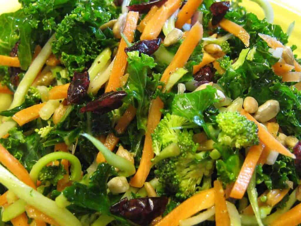 Crunchy Kale Power Salad