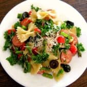 Turkey and Kale Pasta Salad