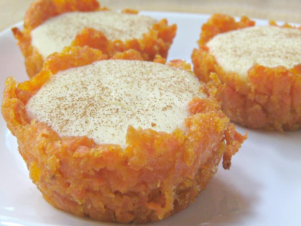 Sweet Potatoes + Cheescake =  yum