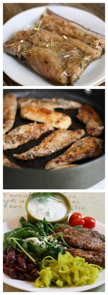 easy greek chicken recipe
