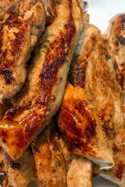 Healthy Marinated Greek Chicken