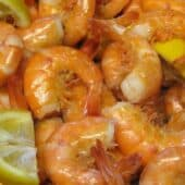 Shrimp boil-Low carb and full of flavor!