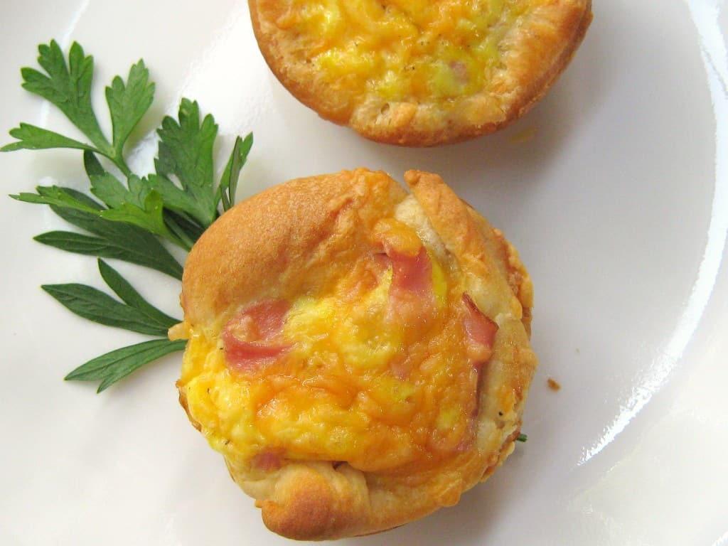 100 Calorie Breakfast Casserole Muffins