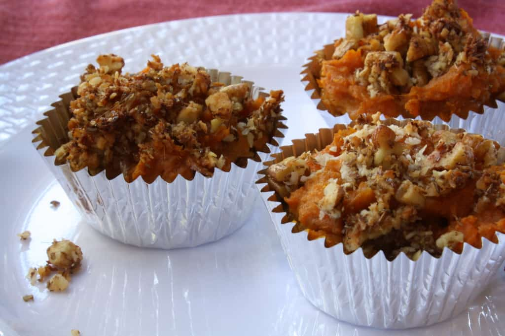 Sweet Potato Casserole Cups- No Added Sugar