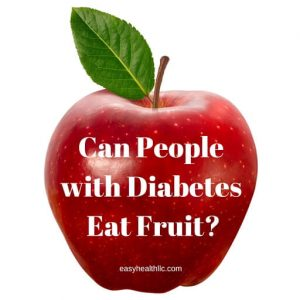 diabetes and fruit