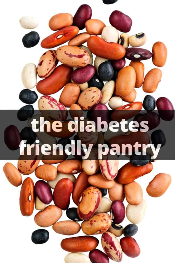 the diabetes friendly pantry