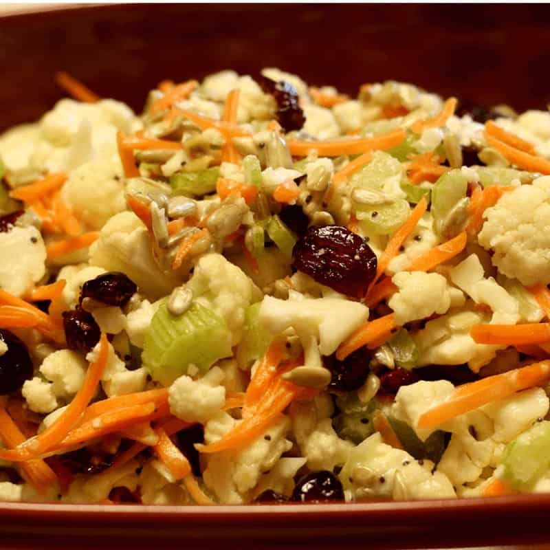Cauliflower Crunch Salad