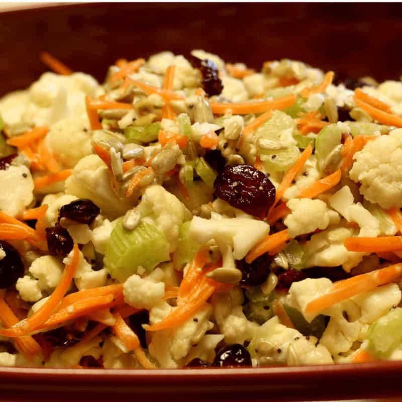 Cauliflower Crunch Salad