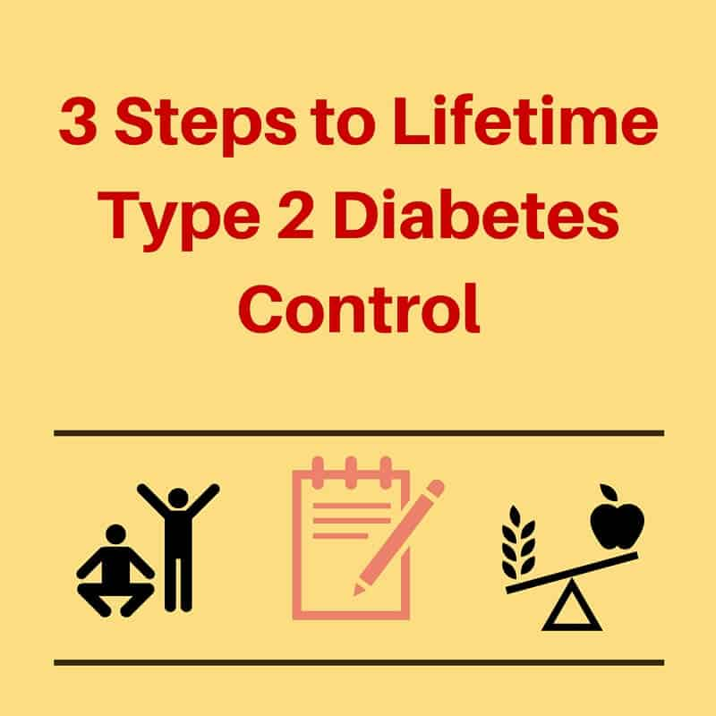 3 steps to type 2 diabetes control