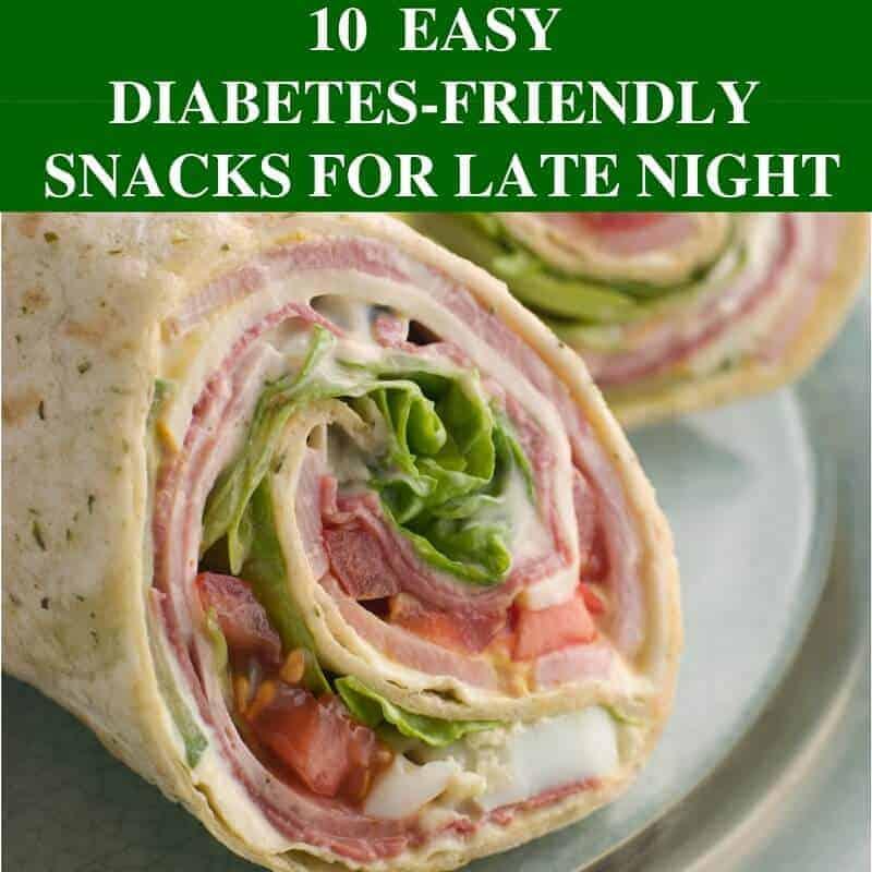 10 Easy Diabetes Friendly Snacks