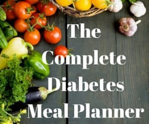 complete diabetes meal planner