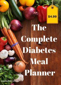 complete diabetes meal planner