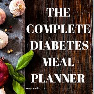 easy diabetes diet planning