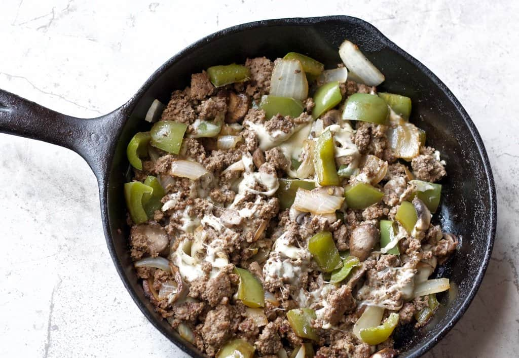 low carb philly cheesesteak
