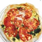 Phyllo Tomato Pie