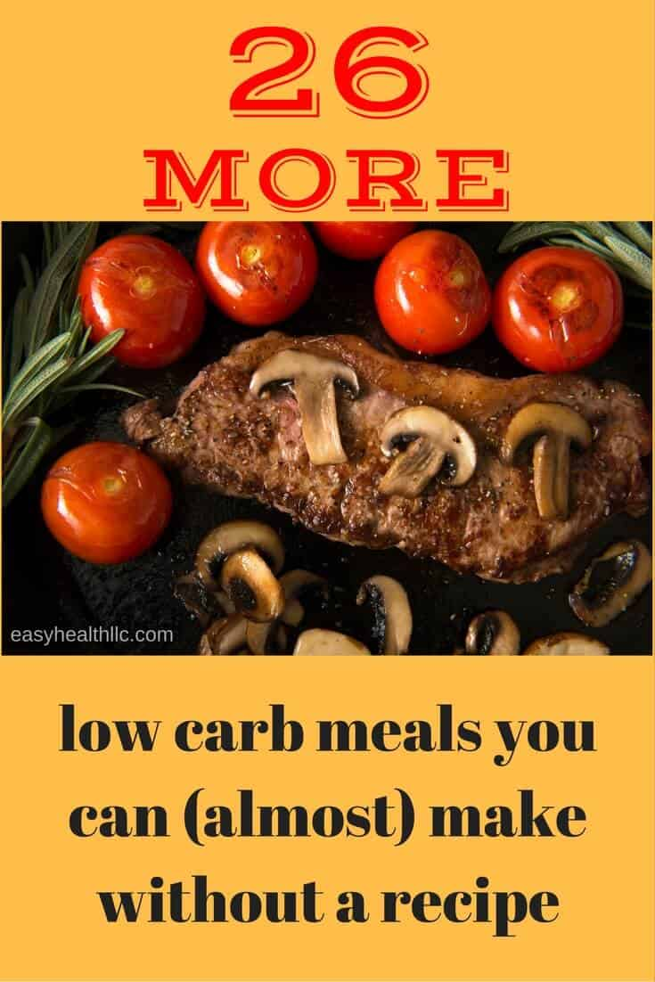 26 fast and easy low carb meals the whole family will love. #lowcarb
