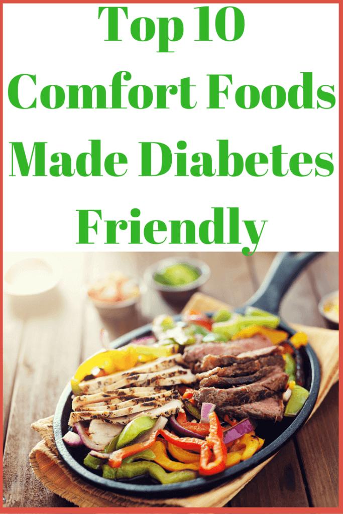 Top 10 Comfort Foods Made Diabetes Friendly