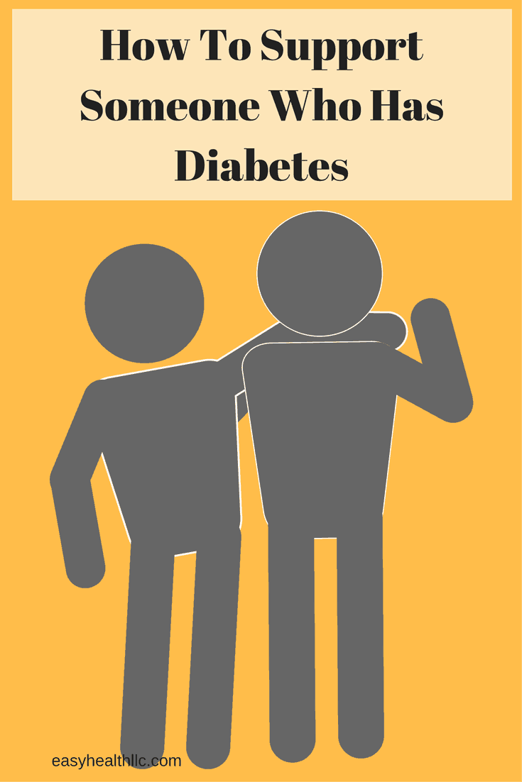 How to Support A Friend or Family Member With Diabetes