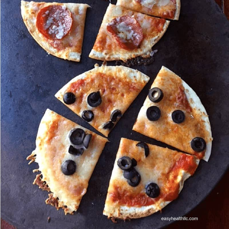 Cheesy Crispy Low Carb Pizza