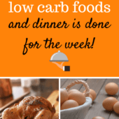 Buy these 10 low carb foods for a week of meals
