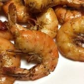 Low Carb Peel & Eat Shrimp