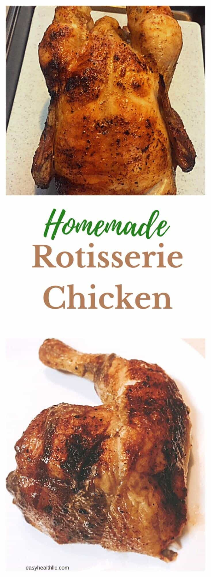 Why pay for a salty, fat laden rotisserie chicken when you can have fun making your own?