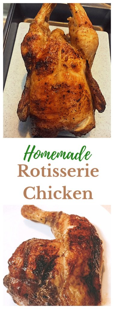 Homemade Rotisserie Chicken
