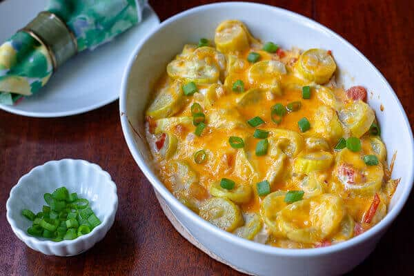 Tex-Mex Squash Casserole – Low Carb