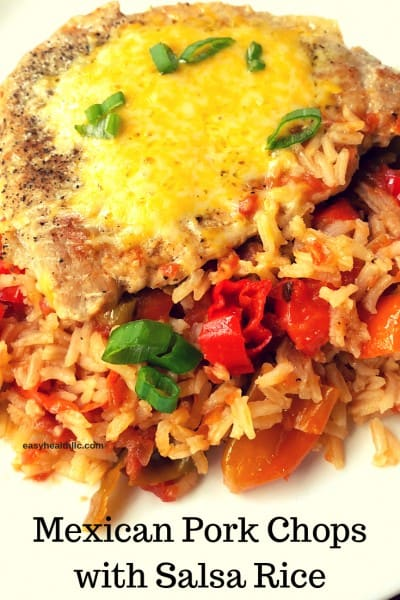 Pork Chops with Easy Mexican Rice