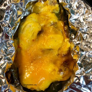 stuffed poblano if foil