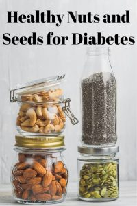 jars of healthy nuts and seeds