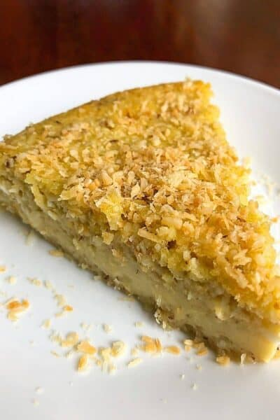 Diabetes Friendly Coconut Pie