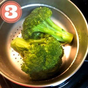 broccoli in pot
